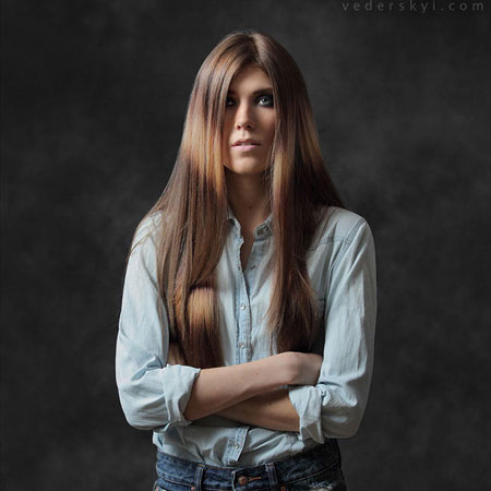 portrait studio photo session in Kyiv портрет студийная фотосессия в Киеве