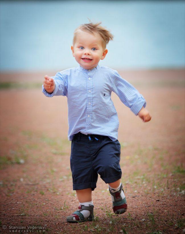 Счастливая фотосессия в парке для ребёнка | Happy photo session for child in the park